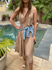 Jumpsuit - Brown Leopard