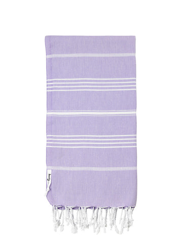 Traditional Turkish Towel - Lilac