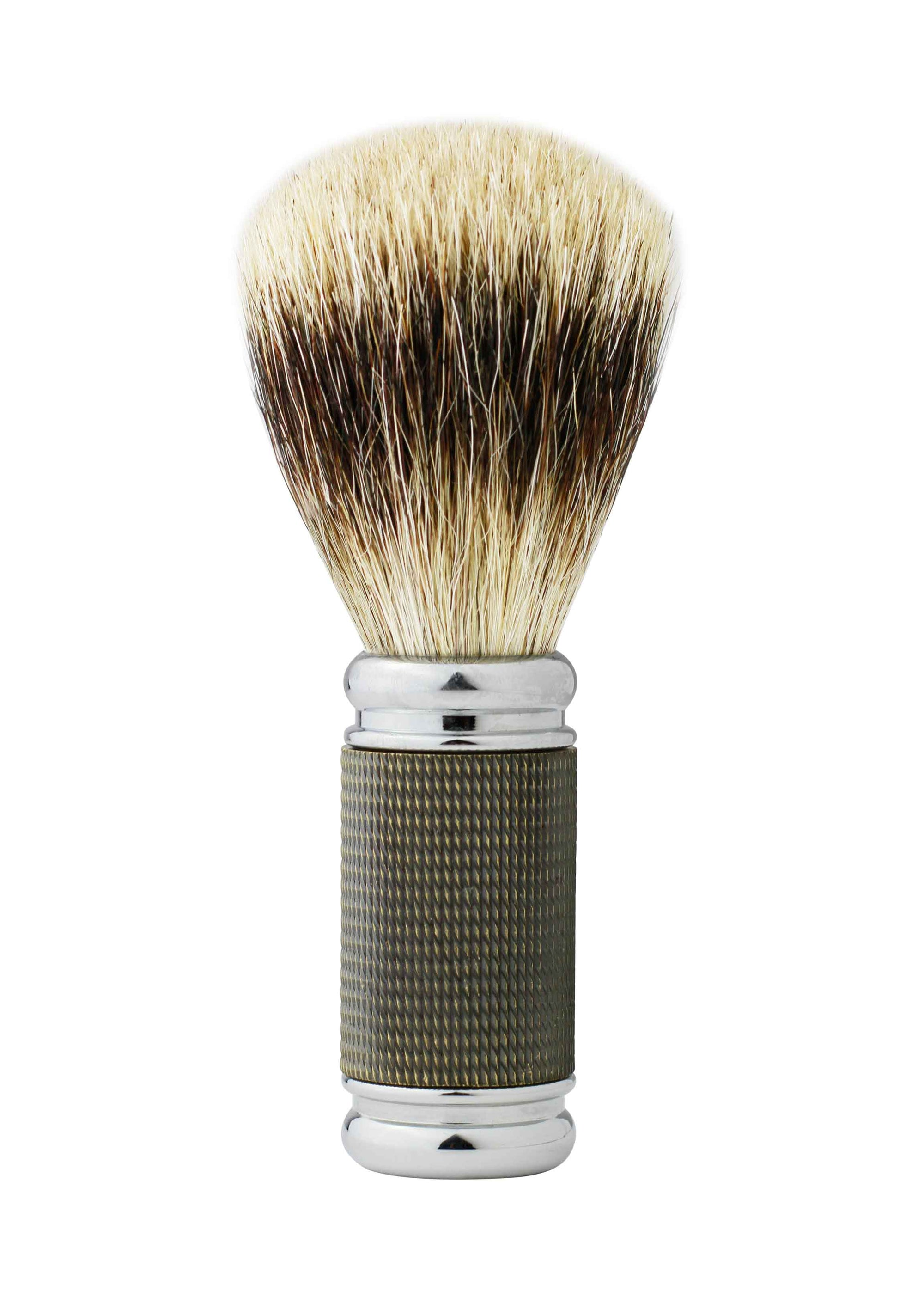 Dean Collection Pure Badger Shaving Brush Antique Gold