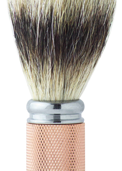 Dean Collection Pure Badger Shaving Brush Rose Gold