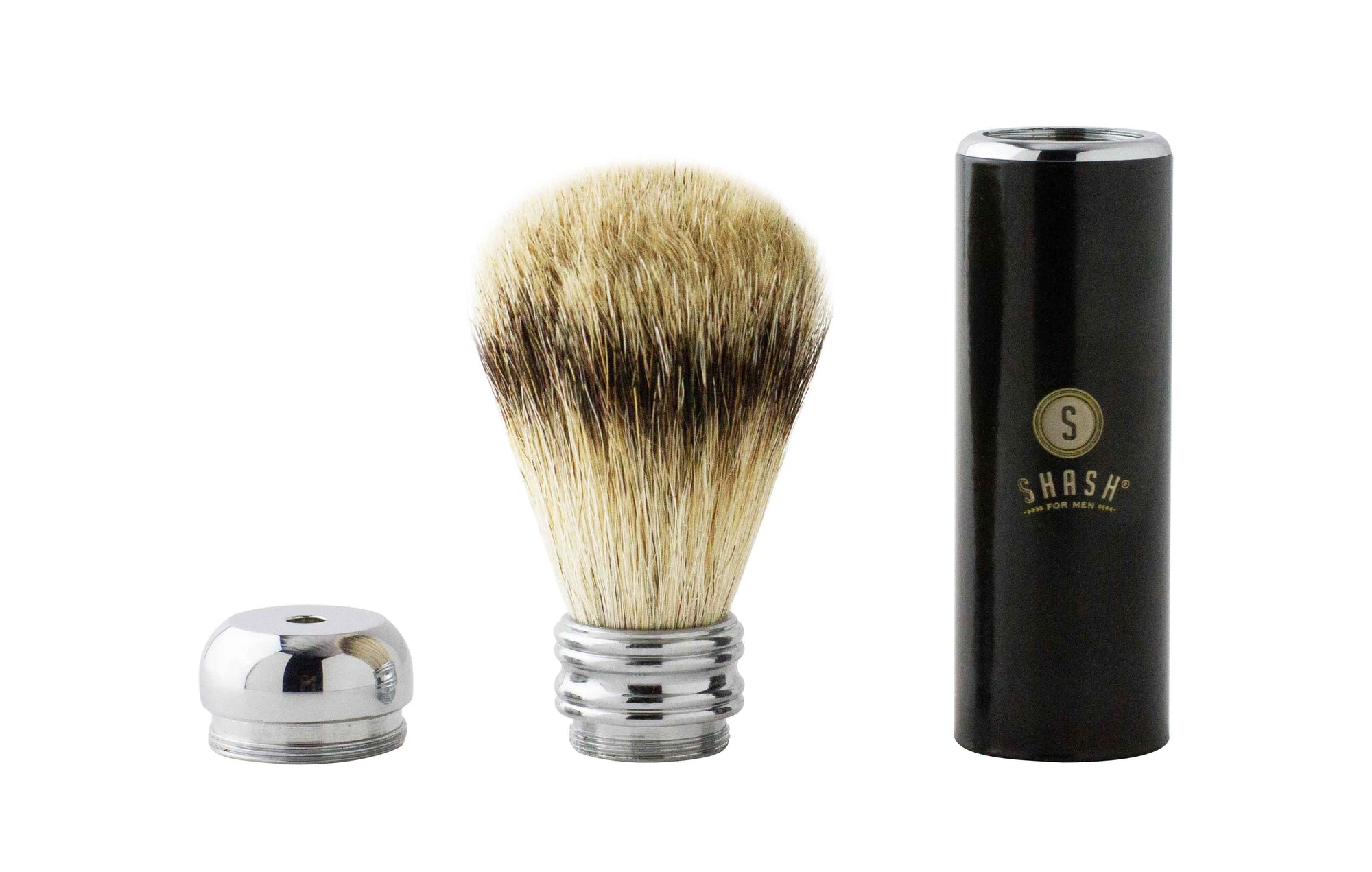 TRAVEL BEST BADGER BRUSH BLACK