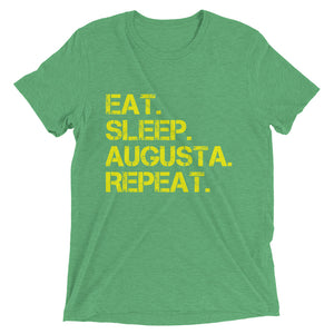 Eat. Sleep. Augusta. Repeat. | Premium T-Shirt - Fairway Splitters