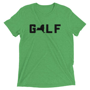 GOLF NY | Premium Tri-Blend T-shirt - Fairway Splitters