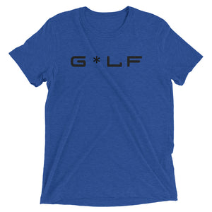 G*LF | Premium Tri-Blend T-Shirt - Fairway Splitters