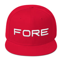 FORE! |  Snapback Hat (6 Colors) - Fairway Splitters