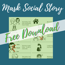TIL Exclusive:  Mask Lanyard (with FREE Social Story!) - Tumble into Love