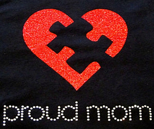 Embrace Difference Tees -Proud Mom - Tumble into Love