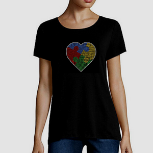 Embrace Difference Tees -Small Heart - Tumble into Love