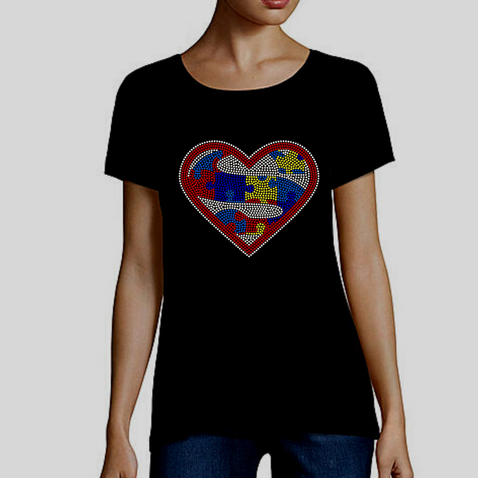 Embrace Difference Tees -Superhero Heart - Tumble into Love