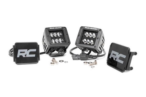 "Rough Country Black Series 2"" LED Lights"