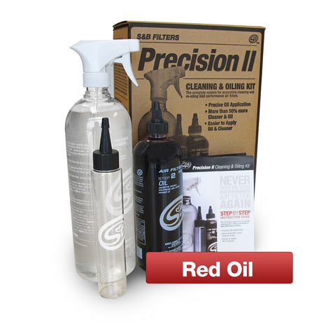 S&B Filters Precision ll Cleaning & Oiling Kit