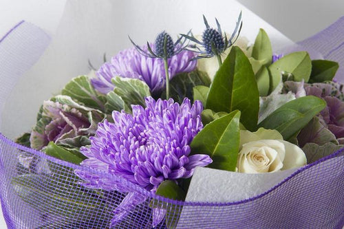 BOUQUET IN PURPLES