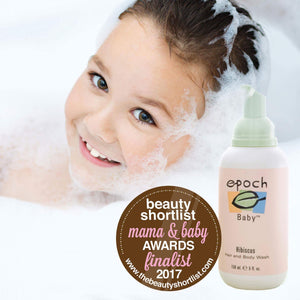 Epoch Hibiscus Baby Hair and Body Wash