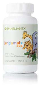 JUNGAMALS SCS LIFEPAK FOR KIDS - 90 chewable tablets