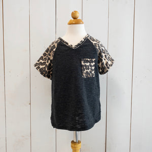Leopard Pocket Tee