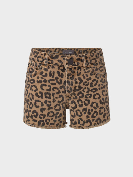 Cut-off Leopard Short