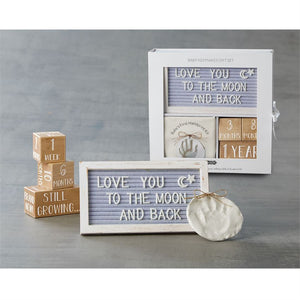 Baby Keepsake Box Gift Set