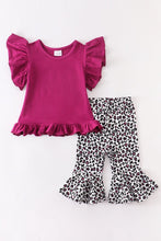 Load image into Gallery viewer, Rayne Leopard Bell Pants Set