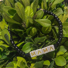 Load image into Gallery viewer, Black MAMA Bracelet