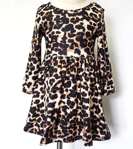 Cheetah Girl Twirl Dress
