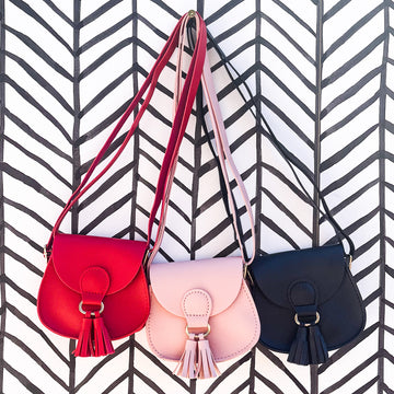 Mini Satchel Purse with Crossbody Strap