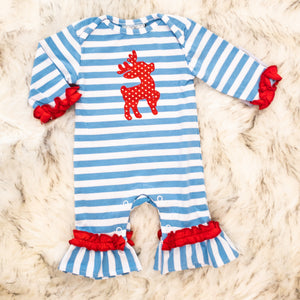 Reindeer Applique Romper