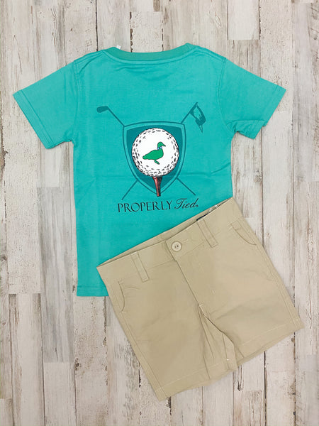 Tee Time Tee - Soft Green