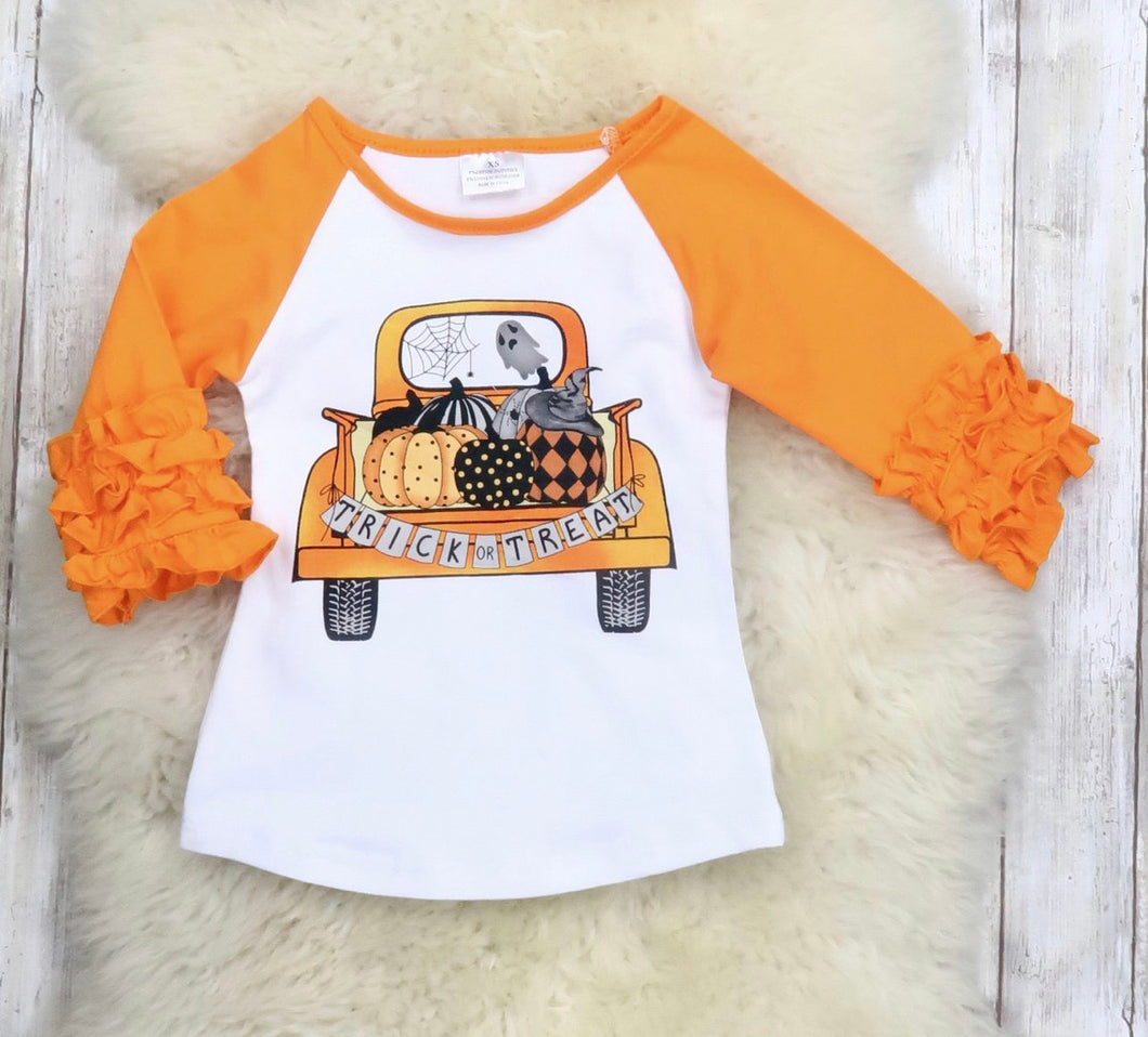 Trick Or Treat Truck Tee