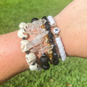 The Linen Customizable Stack Bracelet