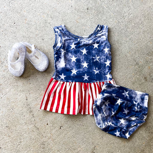 Stars & Stripes Bloomer Set