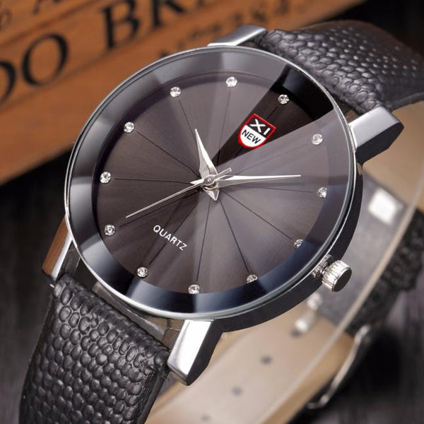 Diamond Dial Watch
