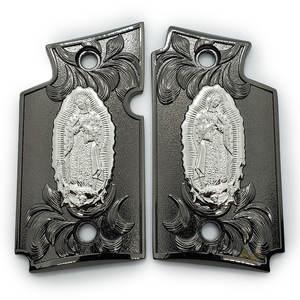 Sig Sauer P938 Virgin Mary Pistol Metal Grips