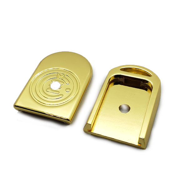 CZ 75B, CZ 85B, SP-01 & Shadow Magazine Metal Floor-plate Gold Plated
