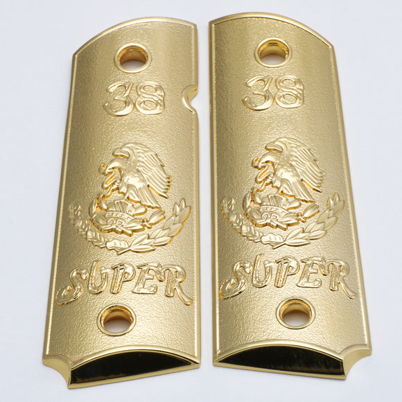 1911 GUN GRIPS 38 Super Gold Ambi Safety #T-T346