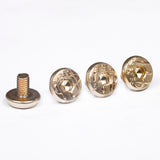 4 X Beretta Logo Grip Screws for 92F 92FS M9 SB 96 Elite M9A1 80 Gold Plated