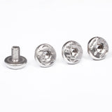 4 X Beretta Logo Grip Screws for 92F 92FS M9 SB 96 Elite M9A1 80 Nickel Plated