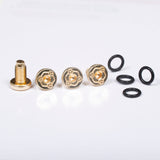 ALL 1911 Pistol Grip Screws - Handles Gold Plated NEW #T-T279