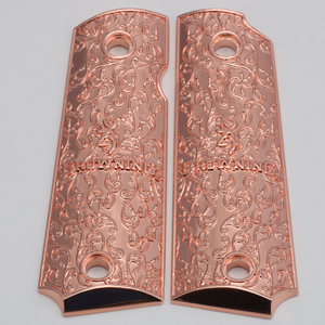 Browning 1911-22 / 1911-380 Metal Grips Rose Gold Plated