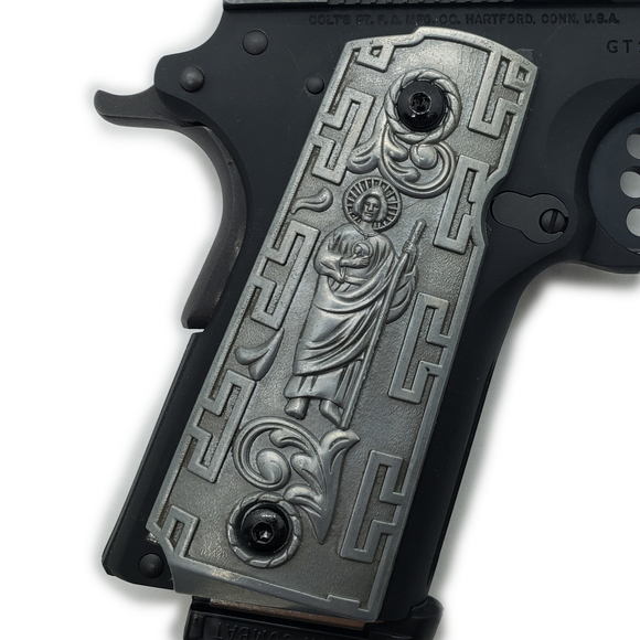 1911 Grips Compact Officer Size  St Jude Grips 5 Colors Available