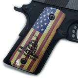 1911 Compact Officer Art Grips