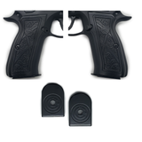 Combo CZ 75 Grips Scroll Full Size 75 B BD SP-01 Shadow 2 #T-CZ13