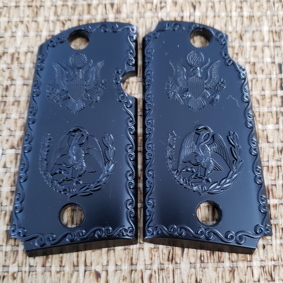 KIMBER MICRO 9MM CUSTOM PISTOL GRIPS – Tek Tactical