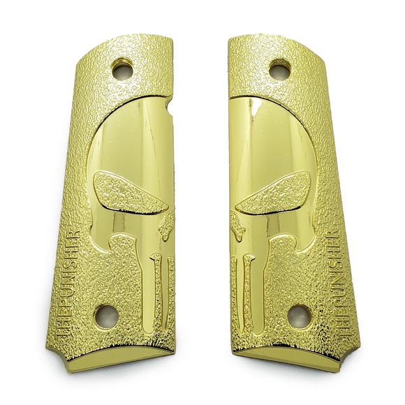 1911 METAL GRIPS FULL SIZE Gold PLATED #T-TP001