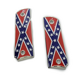 .999 Silver Or 18K Plated Grips Emblems 15 mm Medallions