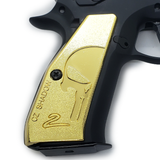 CZ 75 Grips Shadow 2 Skull Full Size 75 B  SP-01  Gold