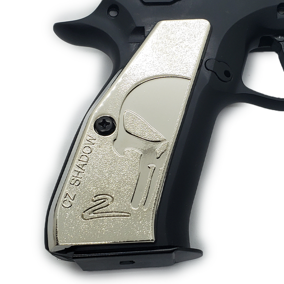 CZ 75 Grips Shadow 2 Skull Full Size 75 B  SP-01  Nickel