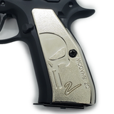 CZ 75 Grips Shadow 2 Skull Full Size 75 B  SP-01  Dark Grey