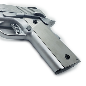 1911 Custom Grips Underplate Stainless Steel
