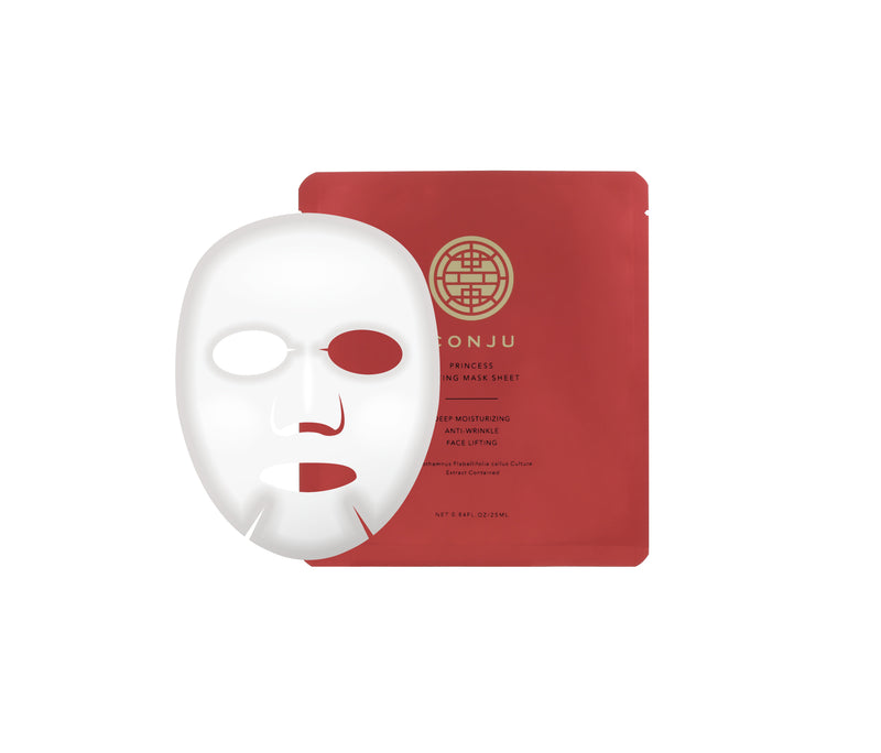 CONJU PRINCESS LIFTING MASK SHEET | フェイスマスクシート10日間分 - CONJUjapan