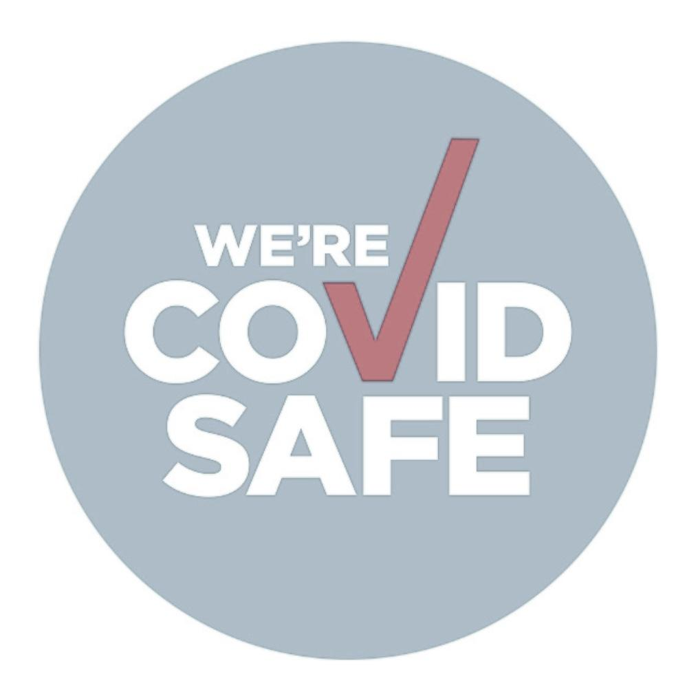 We Are COVID Safe!